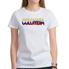 """Colombia Bubble Letters"" Tee"