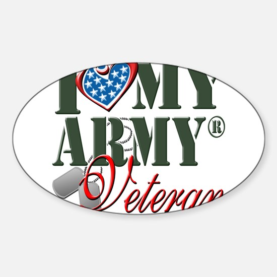 I Love My Army Family Decal