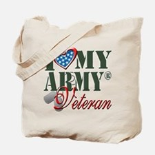I Love My Army Family Tote Bag