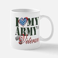I Love My Army Family Mugs