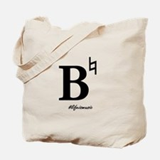 B Natural Tote Bag