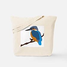 Unique Blue Tote Bag