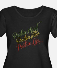 Positivity Plus Size T-Shirt