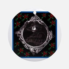Phantom (with Red Roses) ~ Ornament (Round)