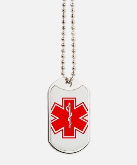 Medical Alert Diabetes Dog Tags