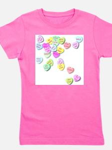 Conversation Hearts T Shir T-Shirt