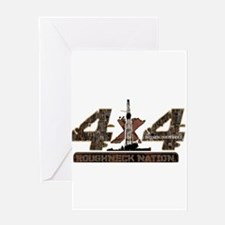 4X4 RIG UP CAMO Greeting Cards
