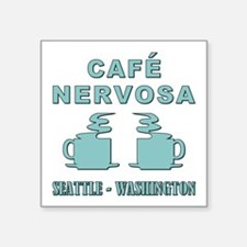 CAFE NERVOSA Sticker