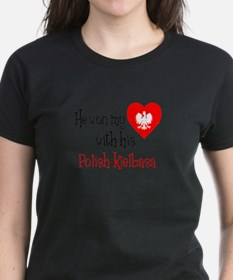 Won My Heart Polish Kielbasa T-Shirt