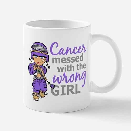 Combat Girl Hodgkin's Disease Mugs