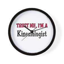 Trust Me I'm a Kinesiologist Wall Clock