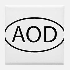 AOD Tile Coaster