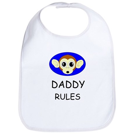 DADDY RULES Bib