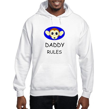 DADDY RULES Hooded Sweatshirt