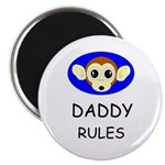 "DADDY RULES 2.25"" Magnet (100 pack)"