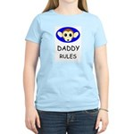 DADDY RULES Women's Pink T-Shirt