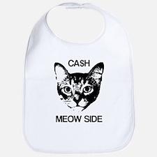 CASH MEOW SIDE Baby Bib