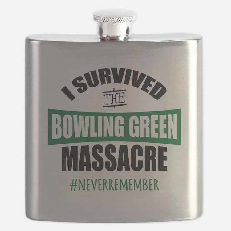 Bowling Green Massacre Flask
