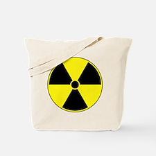 Radiation Symbol (yellow) Tote Bag