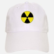 Radiation Symbol (yellow) Baseball Baseball Cap