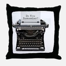 Unique Manual typewriter Throw Pillow