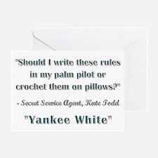 SHOULD I WRITE... Greeting Card