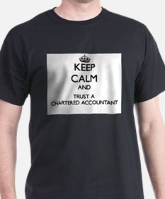Keep Calm and Trust a Chartered Accountant T-Shirt