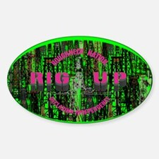 RIG UP CAMO Oilfield Decal