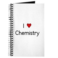 I Love (heart) Chemistry Journal