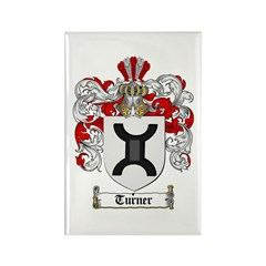 Turner Coat of Arms Rectangle Magnet (10 pack)