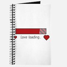 love loading gaming heart Journal