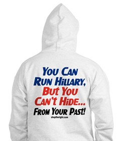 You Can Run Hillary\VRWC Hoodie