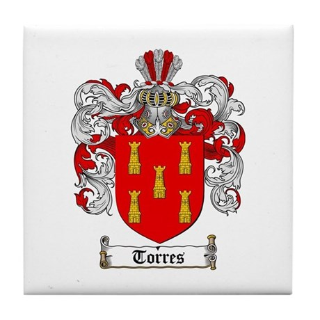 Torres Coat of Arms Tile Coaster