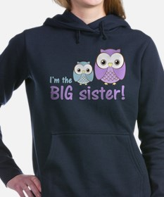 Big Sister Owl Purple/Blue Sweatshirt