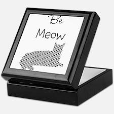 Be Meow Be Mine Funny Cat Keepsake Box