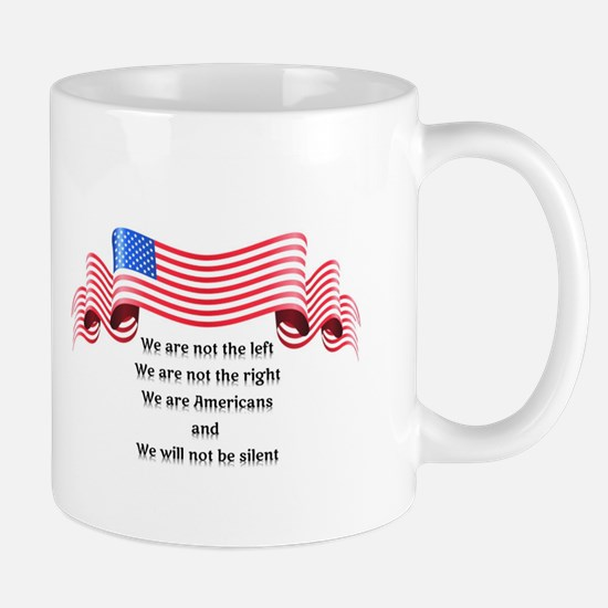 We Will Not Be Silent Mug