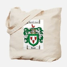 Todd Coat of Arms Tote Bag
