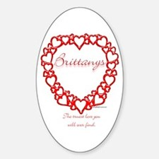 Brittany True Oval Decal