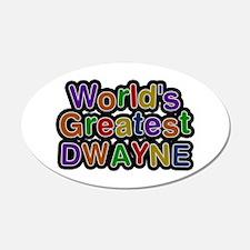 World's Greatest Dwayne Wall Decal