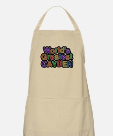 Worlds Greatest Cayden Apron