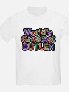 Worlds Greatest Butler T-Shirt