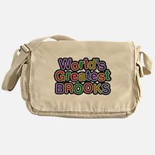 Worlds Greatest Brooks Messenger Bag