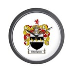 Thompson Coat of Arms Wall Clock