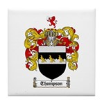 Thompson Coat of Arms Tile Coaster