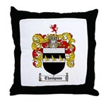 Thompson Coat of Arms Throw Pillow