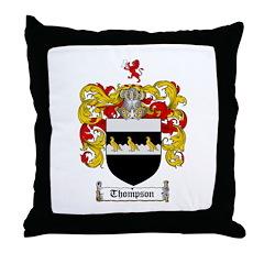 Thompson Coat of Arms Throw Pillow