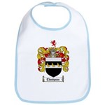 Thompson Coat of Arms Bib