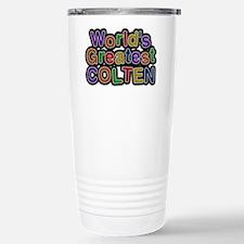 World's Greatest Colten Travel Mug