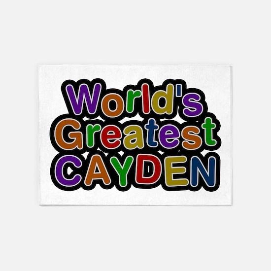 World's Greatest Cayden 5'x7' Area Rug