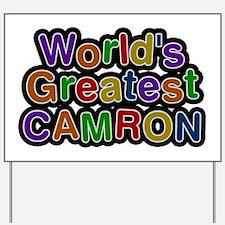 World's Greatest Camron Yard Sign